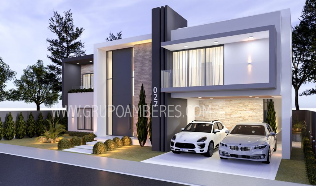 Design of villas and private houses